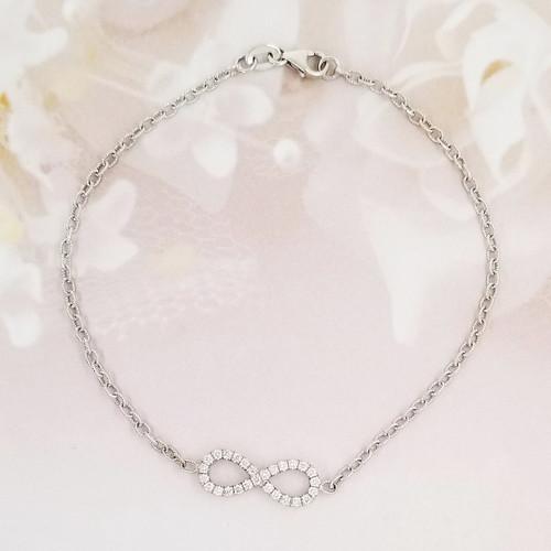Infinity love design bracelet