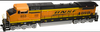 Atlas O BNSF Dash 8-40CW, 2r, sound, exhaust, DCC equipped