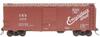 Crown (weaver) C&S (Burlington)  ARA 40' Box car, 3 rail or 2 rail