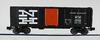 Crown (weaver) NH (black)  ARA 40' Box car, 3 rail or 2 rail
