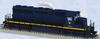 Lionel Legacy CNJ SD-40  diesel, 3 rail