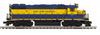 MTH Premier  East Penn  GP-38, 3 rail, w/Sound & exhaust. proto 3.0