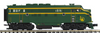 MTH Premier  CNJ (Jersey Central) F-3A  diesel, 3 rail,  powered