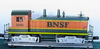 Williams BNSF  NW-2  diesel, 3 rail, conventional operation