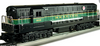 Williams Reading  FM H24-66 Trainmaster  diesel, 3 rail, conventional operation
