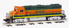 Williams BNSF GP-38   diesel, 3 rail, conventional operation
