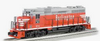 Williams Burlington (CB&Q) GP-30   diesel, 3 rail, conventional operation