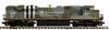 MTH Premier CP (military spitfire) SD70ACe, 2 rail, Proto 3.0, DCC