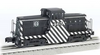 Williams Santa Fe GE 44 ton   diesel, 3 rail, conventional operation