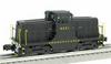 Williams PRR GE 44 ton   diesel, 3 rail, conventional operation
