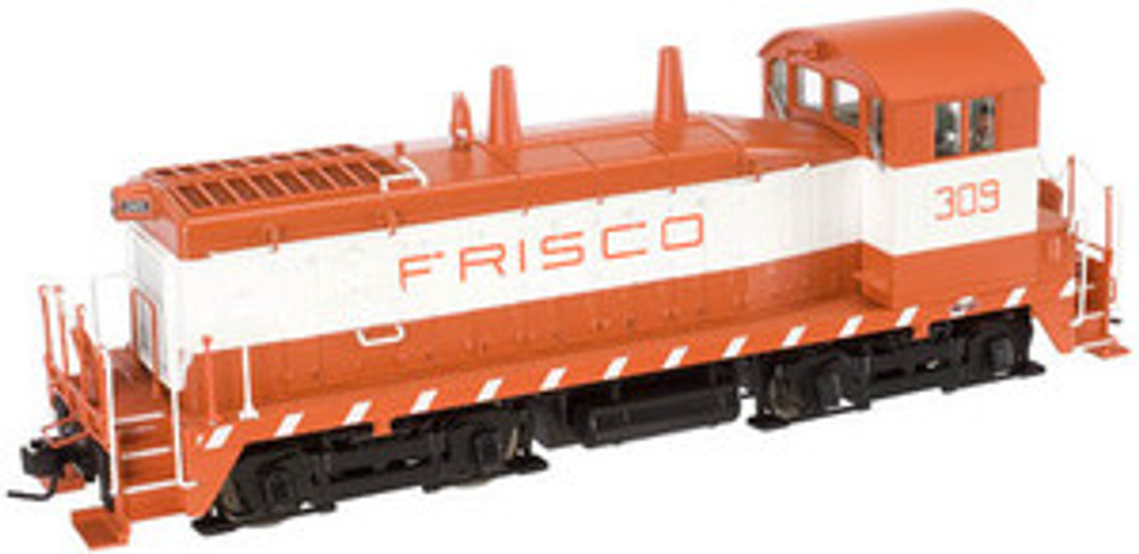 Atlas O Frisco (SLSF) SW-9 switcher, 3 rail, tmcc