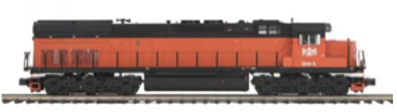 MTH Premier B&LE SD-40T-3 Tunnel Motor diesel, 2 rail,  p3.0, sound, cruise, exhaust