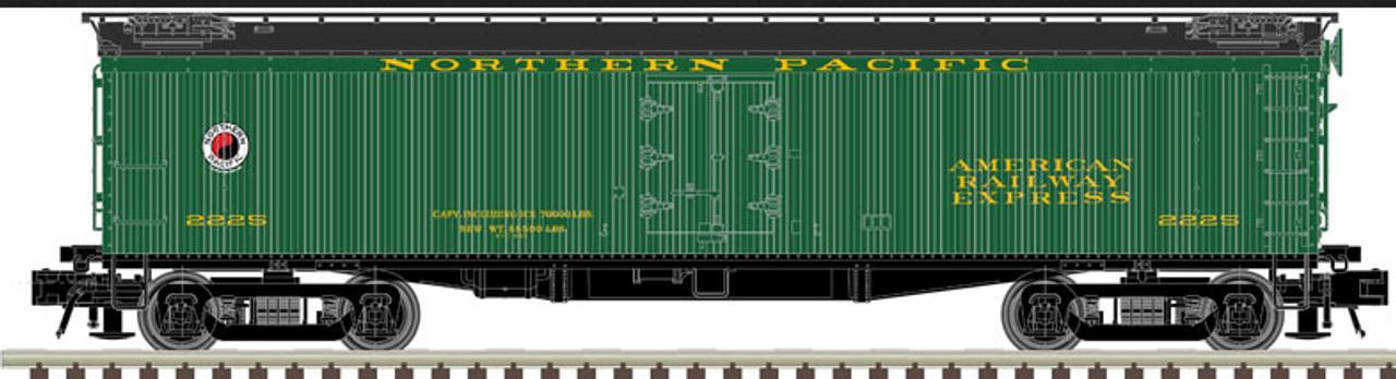 Atlas O NP 53' GACC express reefer, 3 rail or 2 rail