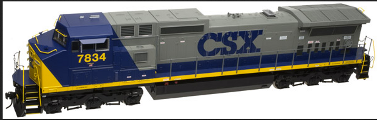 Atlas O CSX Dash 8-40CW, 3r, conventional operation,