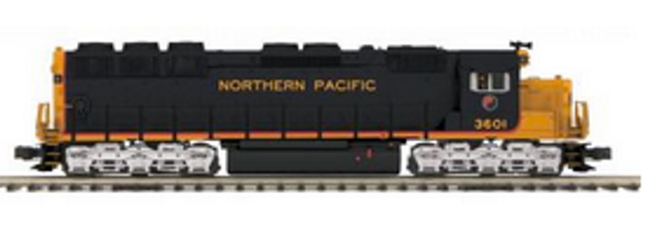 MTH Premier NP SD-45, diesel, 3 rail, p3.0, sound, cruise, exhaust