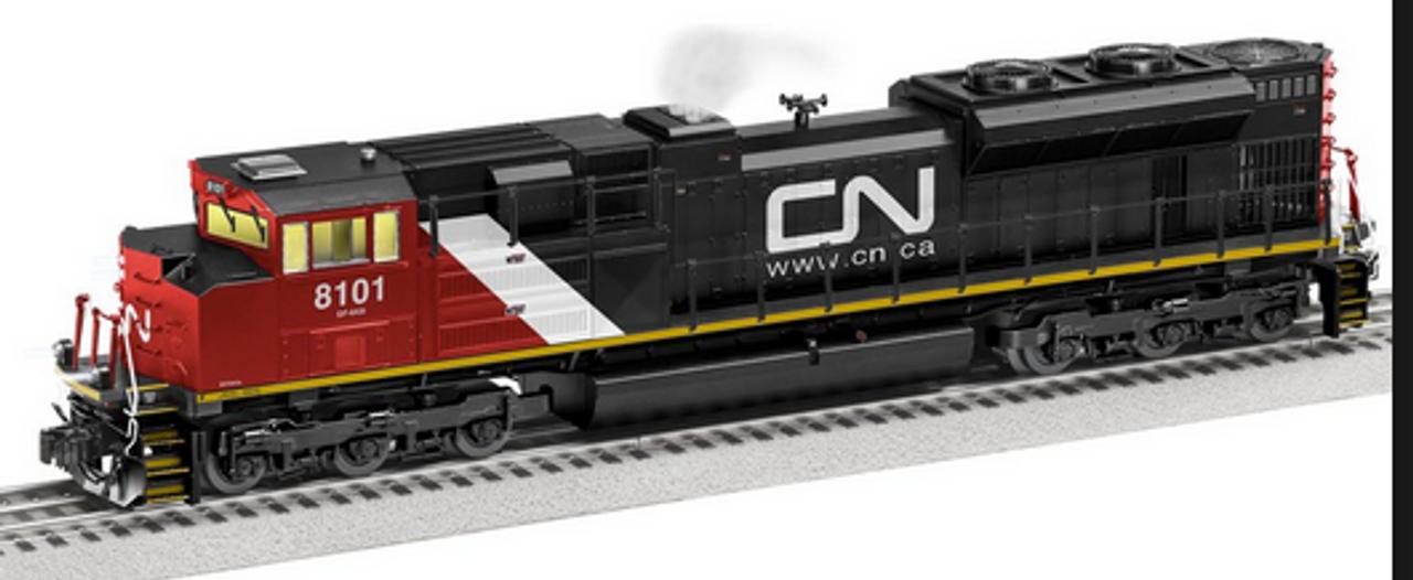 Lionel 85048 CN SD-70ACe diesel engine, 3 rail