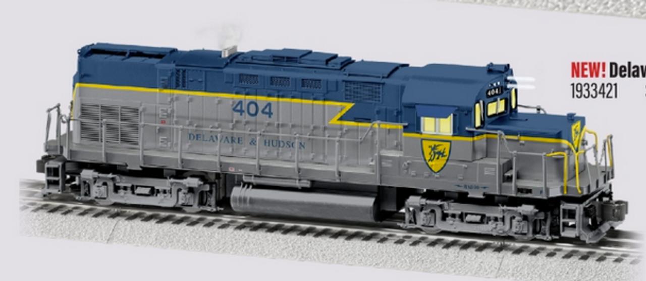 Lionel Legacy D&H (classic colors) C-420 , 3 rail