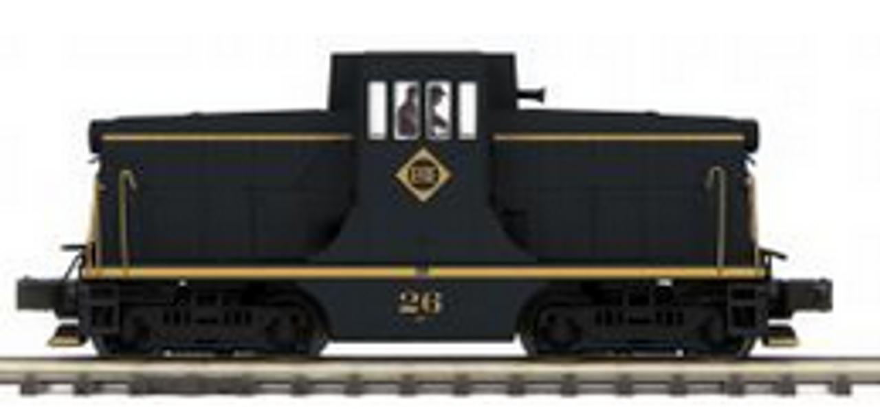 MTH Premier Erie GE 44ton diesel, 3 rail, Proto 3.0