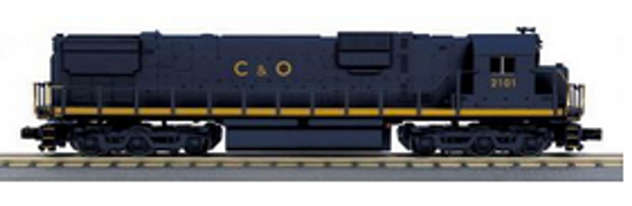 MTH Railking Scale  C&O  C-630  diesel, 3 rail, P3.0