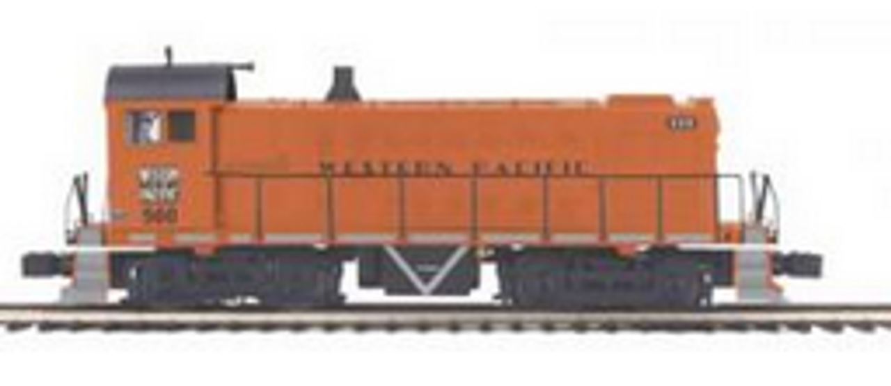 MTH Premier WP S-2  switcher, 3 rail, P2.0