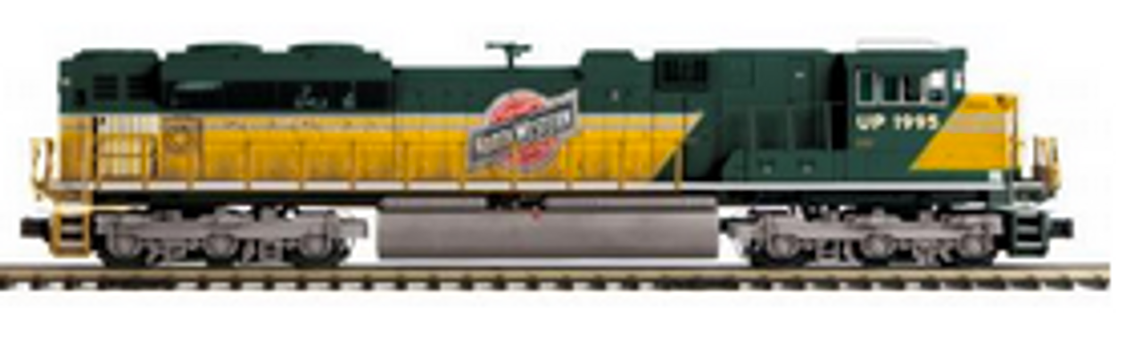 MTH Premier CNW SD70ACe, 2 rail, Proto 3.0, DCC