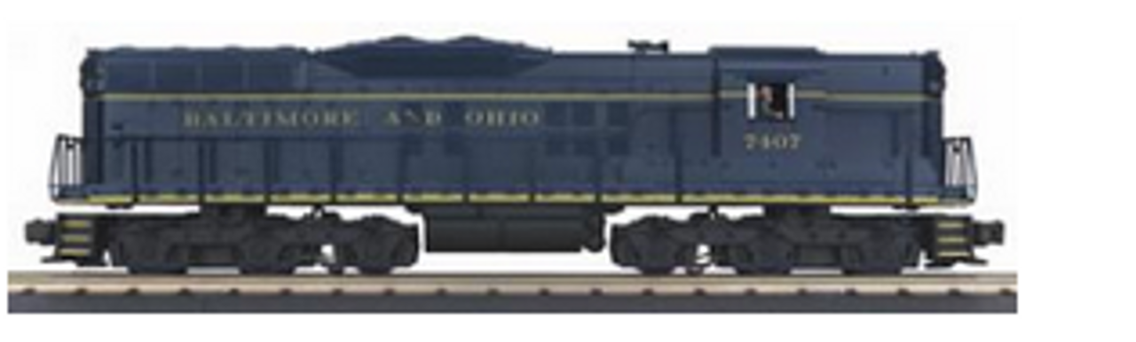 MTH Railking Scale  B&O SD-9  diesel, 3 rail, non powered