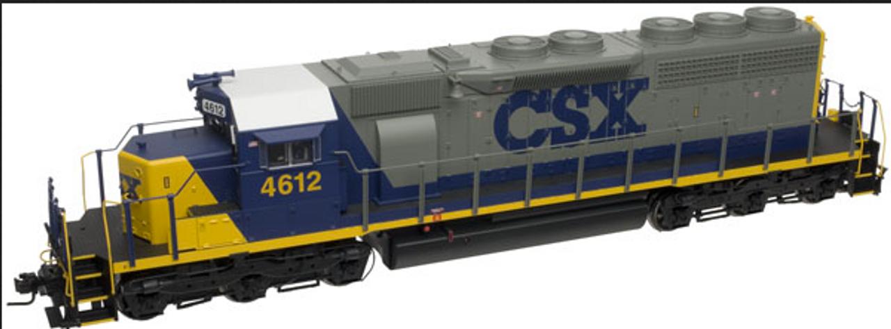 Atlas O CSX SD-40,  3 rail, TMCC