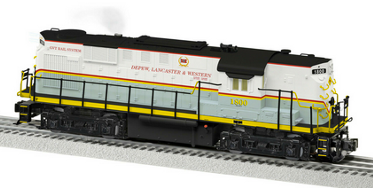 Lionel Legacy Depew, Lancaster & Western RS-11 , 3 rail