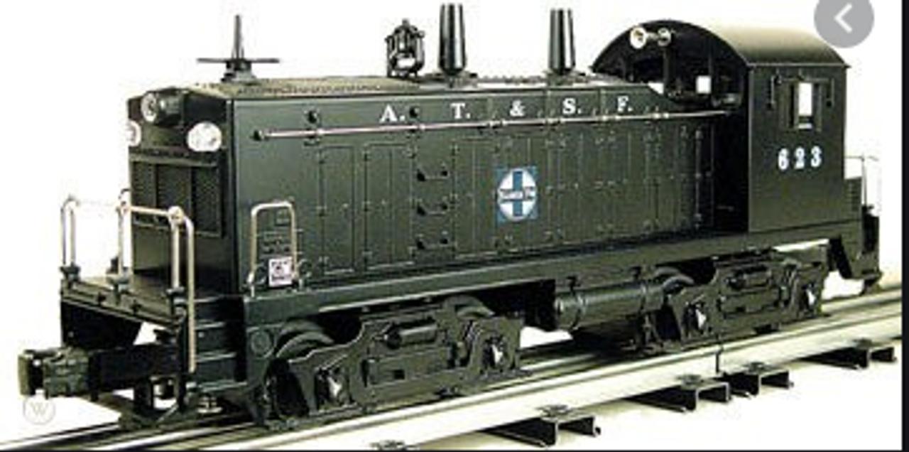 Williams Santa Fe  NW-2  diesel, 3 rail, horn and bell