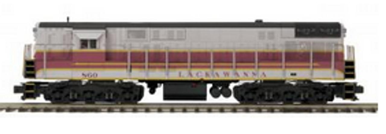 MTH Premier Lackawanna FM H24-66 Trainmaster, 3 rail,  p2.0, sound, cruise, exhaust