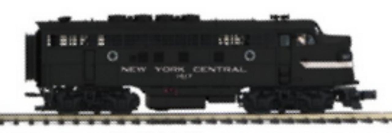 MTH Premier  NYC (cigar band)  F-3A-B diesels, 2 rail,( pwd A, non-pwd B)