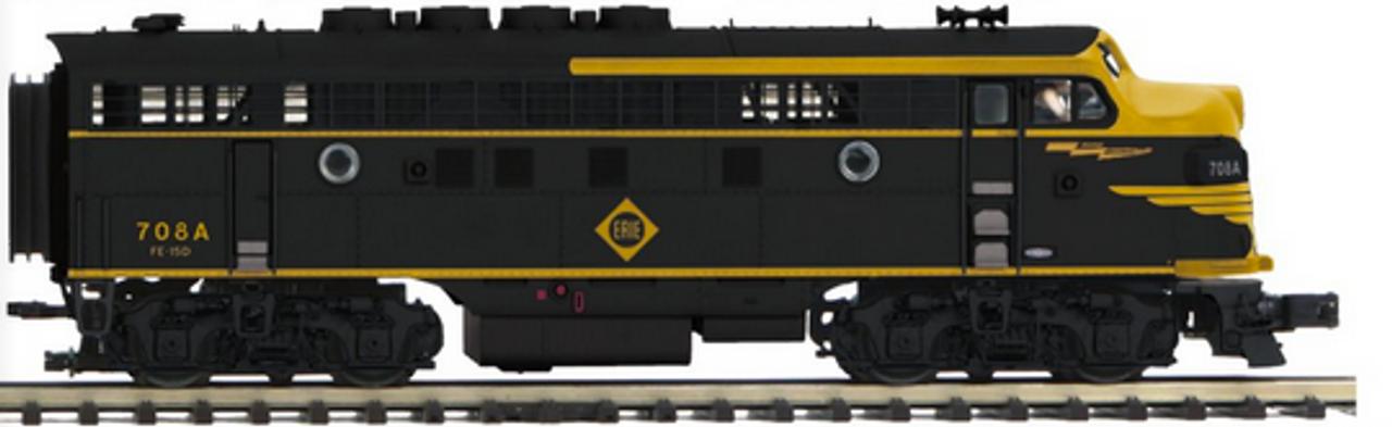 MTH Premier  ERIE F-3A-B  diesel, 3 rail,  (powered A,  Non-powered B)proto 3.0