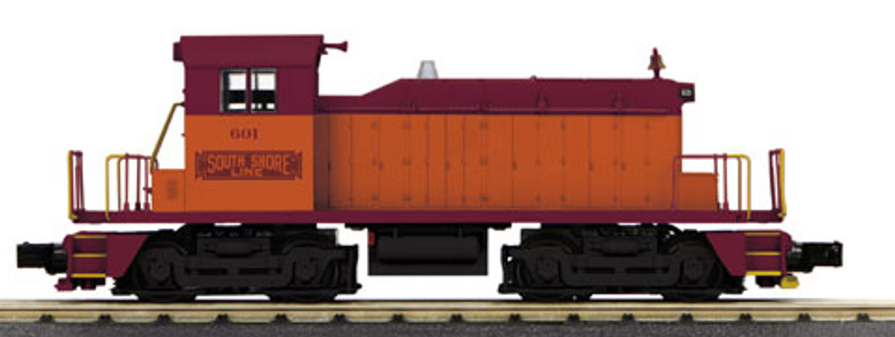 Pre-order for MTH Railking Scale Chicago South Shore SW-1 diesel, 3 rail, Proto 3.0