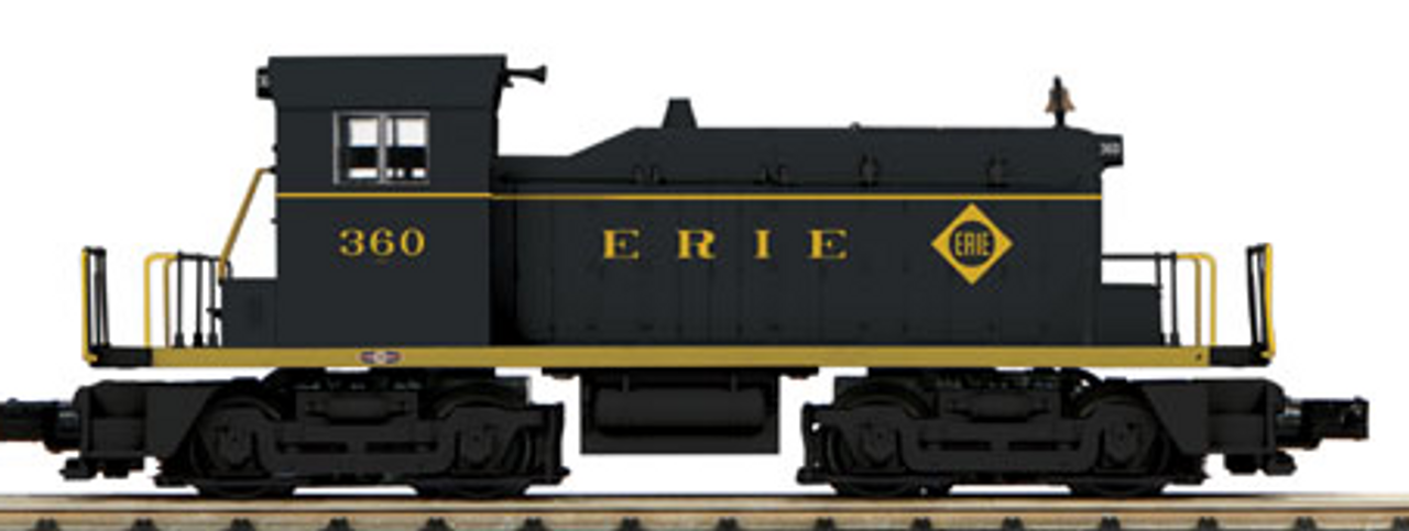 Pre-order for MTH Railking Scale Erie SW-1 diesel, 3 rail, Proto 3.0