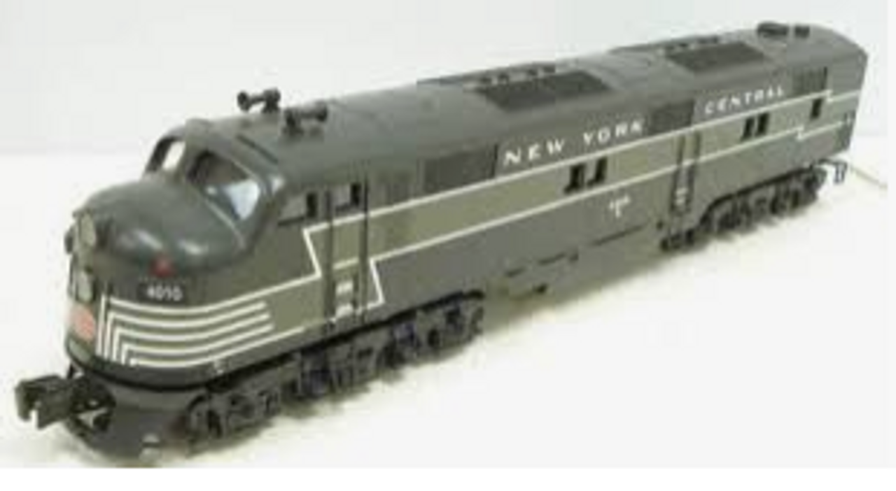 Williams NYC (lightning  stripe) E-7 A-A diesels , 3 rail, conventional operation