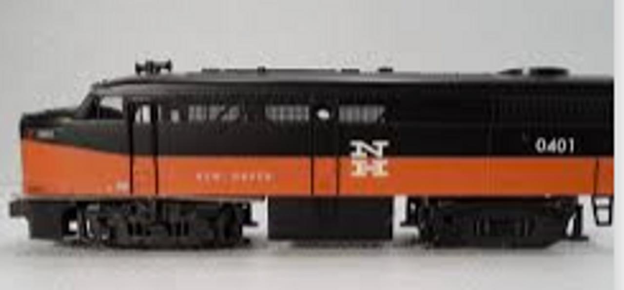 Williams New Haven FA/FB deisels, A-B-A set , 3 rail, conventional operation