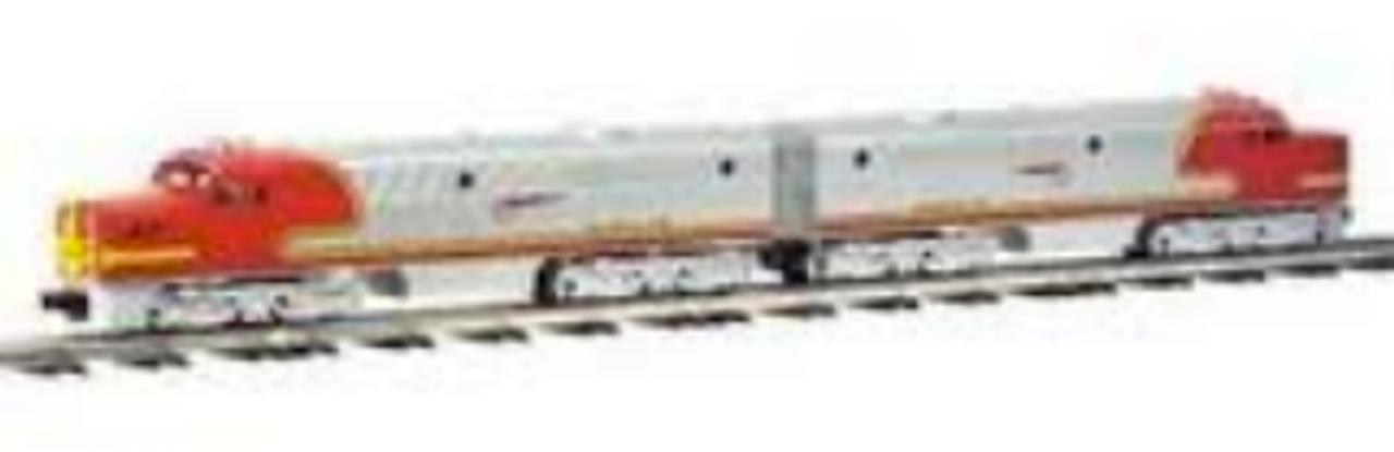 Williams santa Fe PA-1 diesels, A-A set , 3 rail, conventional operation