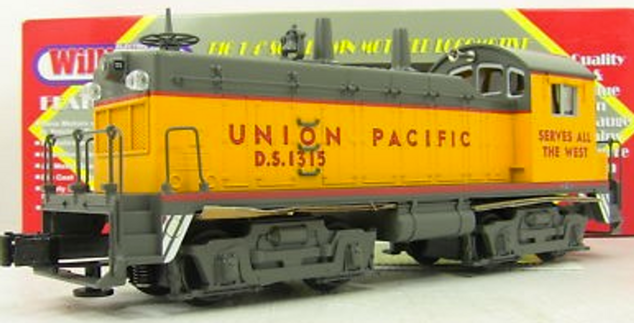 Williams UP  NW-2  diesel, 3 rail, conventional operation