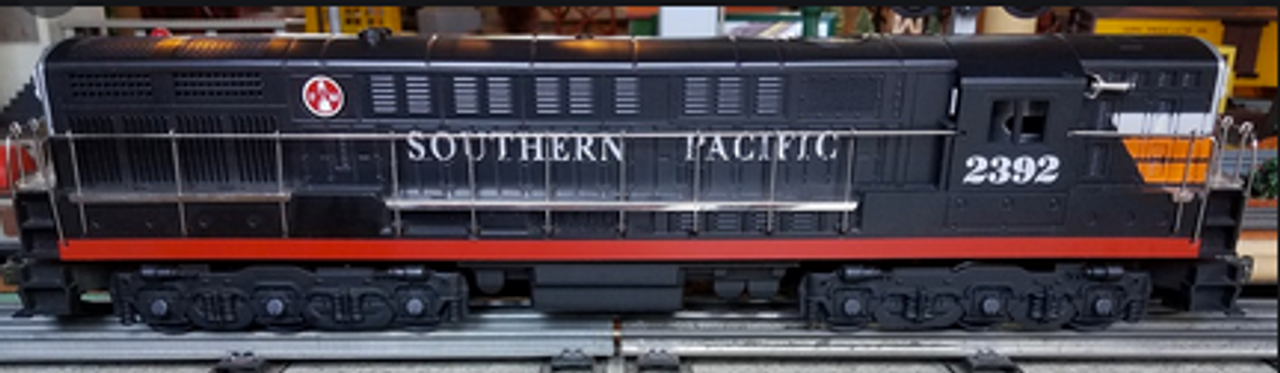 Williams SP  FM H24-66 Trainmaster  diesel, 3 rail, conventional operation