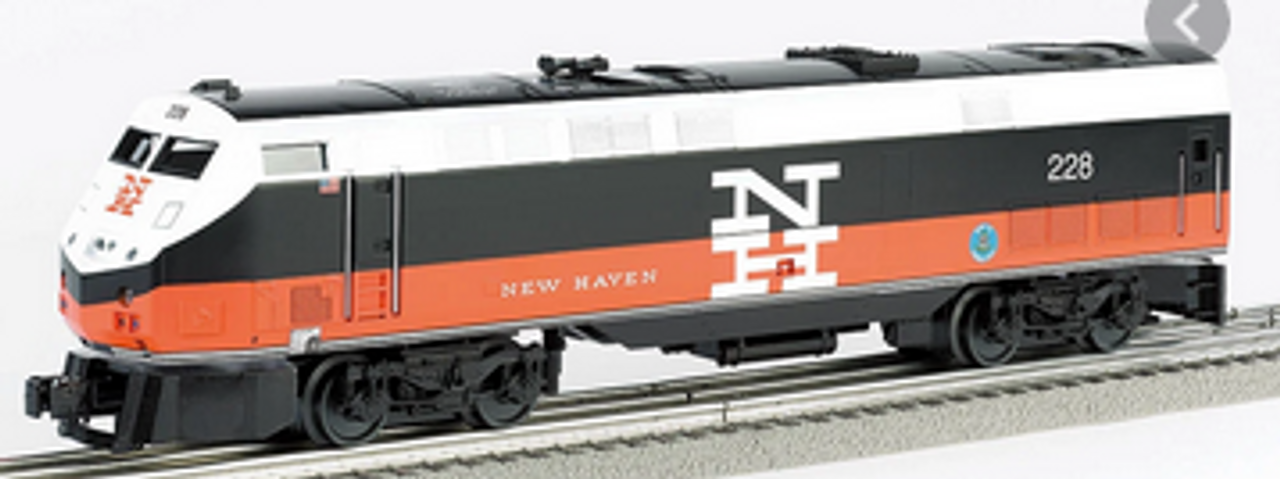 Williams New Haven P42 Genesis  diesel, 3 rail, conventional operation