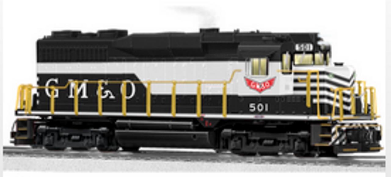 Lionel Legacy  GM&O  GP30  diesel , 3 rail