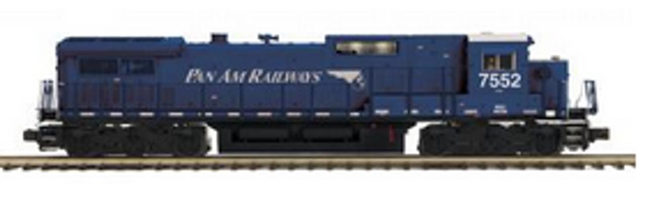 MTH Premier Pan Am  C40-8 diesel , 2 rail, Proto 3.0, DCC