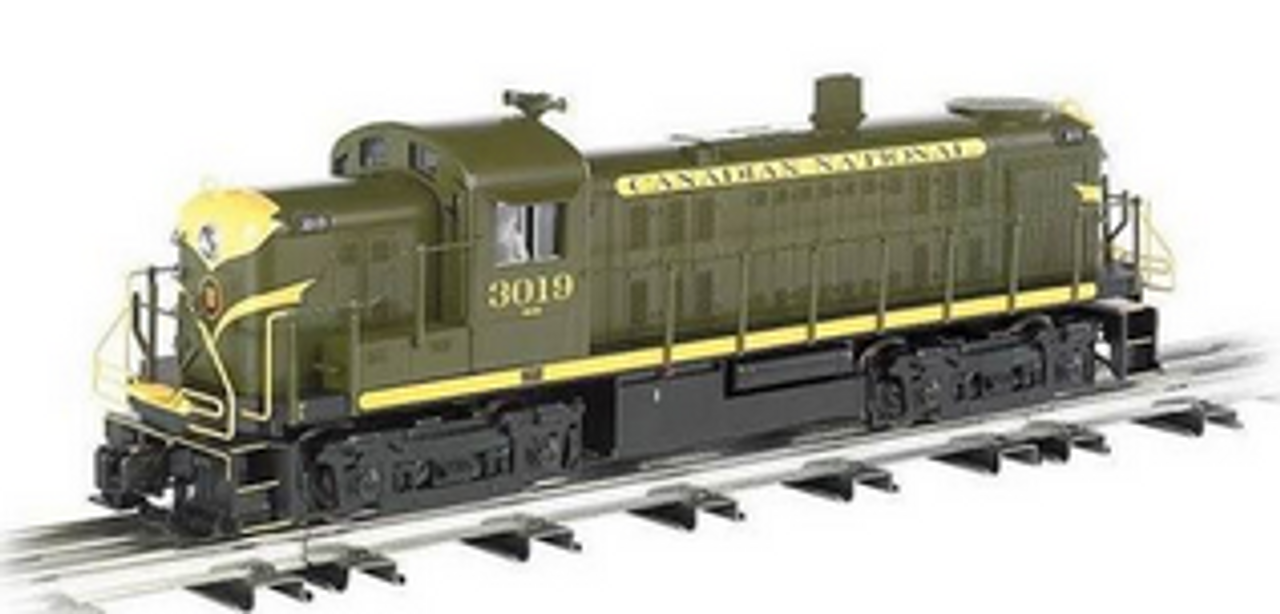 Williams CN RS-3   diesel, 3 rail, conventional operation