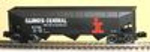 Weaver IC 3 bay offset hopper car, 3 rail or 2 rail