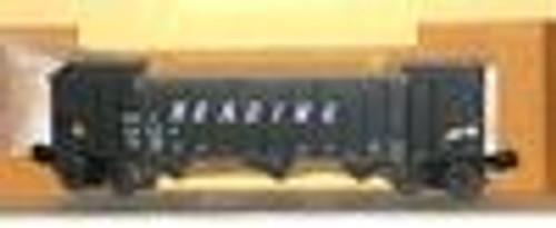 Weaver RDG 3 bay ribbed hopper car, 3 rail or 2 rail