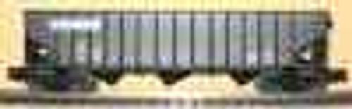 Weaver NS 40' 3 bay hopper car, 3 rail or 2 rail