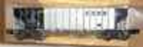 Weaver BN (silver) 40' 3 bay hopper car, 3 rail or 2 rail