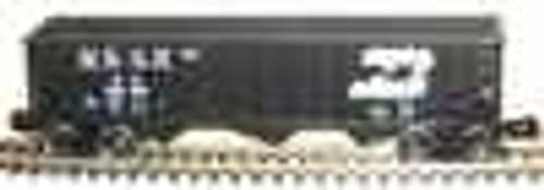 Weaver BN 40' 3 bay hopper car, 3 rail or 2 rail