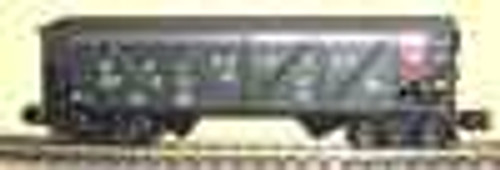Weaver RDG  2 bay Composite hopper car, 3 rail or 2 rail