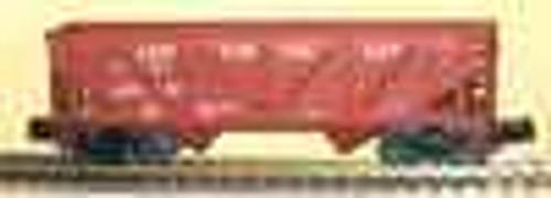 Weaver LV  2 bay Composite hopper car, 3 rail or 2 rail
